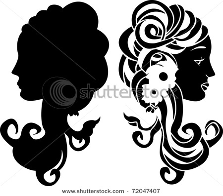 stock-vector-female-head-stencil-decorative-ornament-72047407 (450x397, 45Kb)