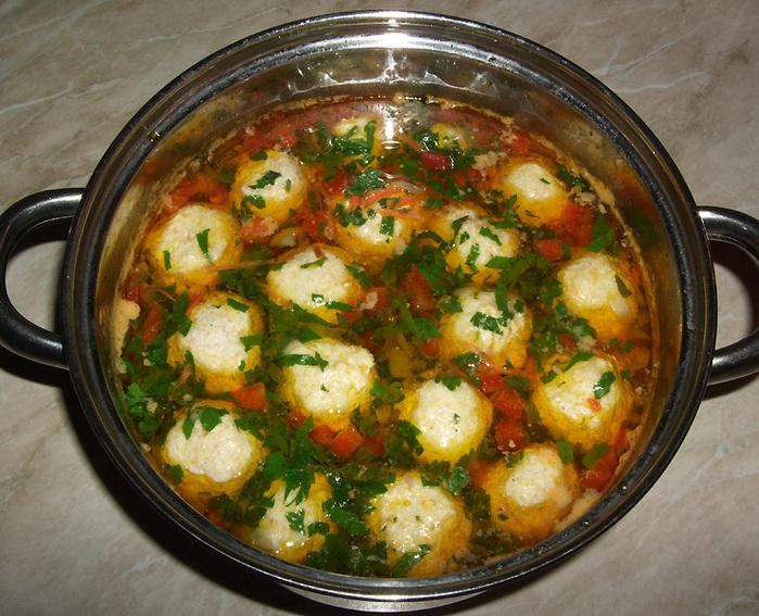 Как готовить суп с фрикадельками с фото пошагово