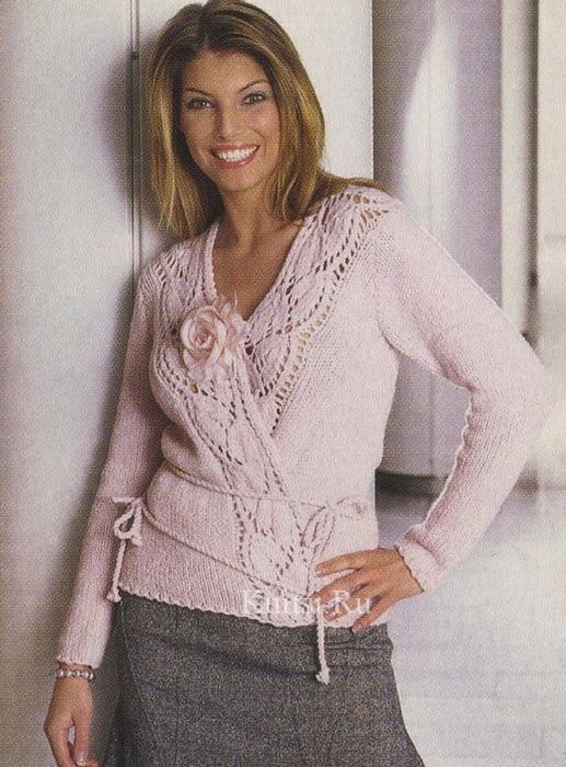 Вязание женской одежды спицами