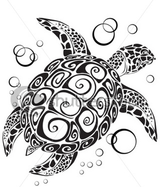 stock-vector-turtle-a-silhouette-7358932 (319x374, 88Kb)