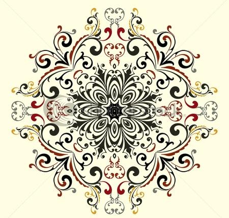 stock-vector-vector-vintage-floral-pattern-93449281 (450x428, 179Kb)