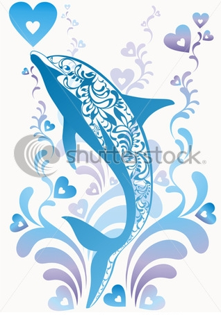 stock-vector-blue-ornamental-vector-dolphin-with-colorful-flourish-elements-and-decorative-hearts-on-background-89064388 (318x454, 110Kb)