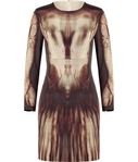 ������ Mcq Alexander Mcqueen Phantom Print Dress (595x700, 197Kb)