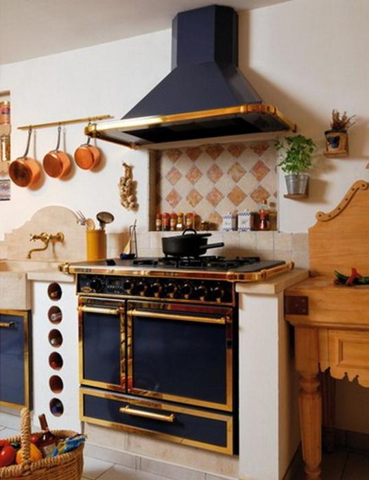Французский стиль в интерьере кухни 4 (538x700, 359Kb)