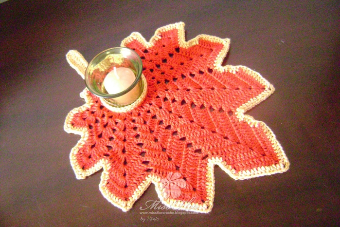 Deco De Table Au Crochet Pour Noel