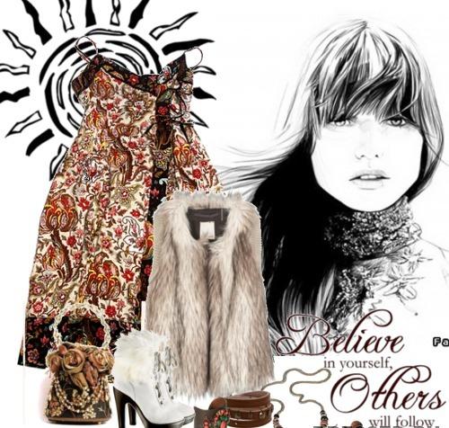 Фольклорный стиль в одежде для.