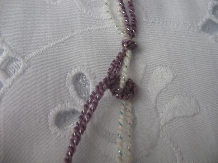 Изящные узелки колье из бисера(бисероплетение,бижутерия,мастер-класс) .