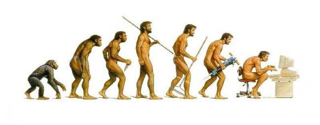 В развитии человека есть два состояния -  прогресс и регресс!