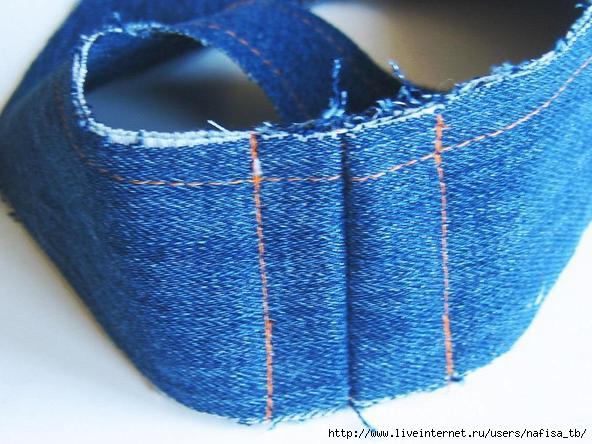 Тапочки сшить из старых джинсов своими руками с выкройками