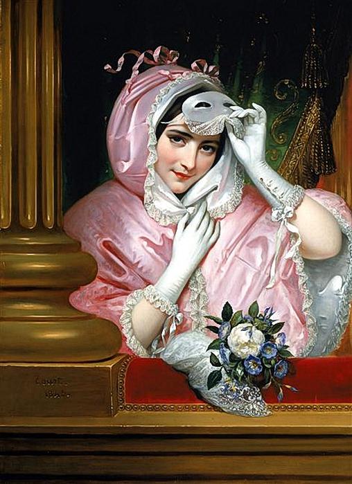 Joseph-Désiré Court (1797-1865), Le Masque (508x700, 291Kb)