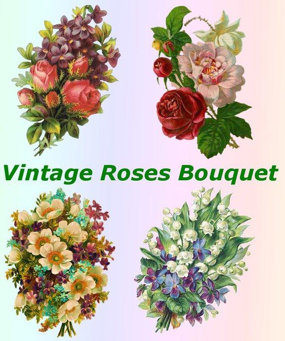 3291761_01Vintage_Roses_Bouquet (586x700, 103Kb)