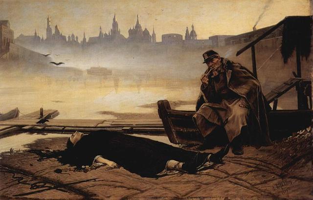 Картина Василия Перова «Утопленница», 1867