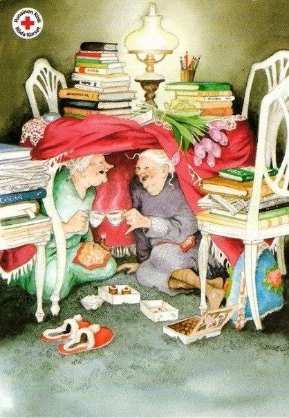 Веселые бабушки. Картины финской ...: www.liveinternet.ru/users/5092565/post350960551