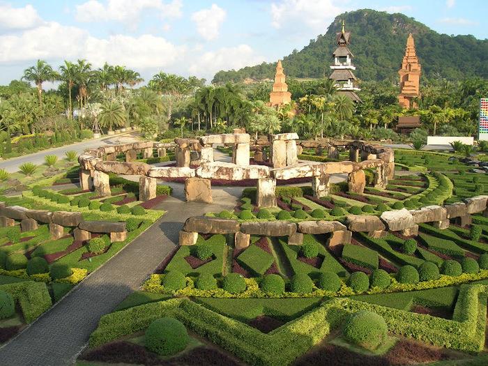 Парк Нонг Нуч (Nong Nooch Tropical Garden) 12846