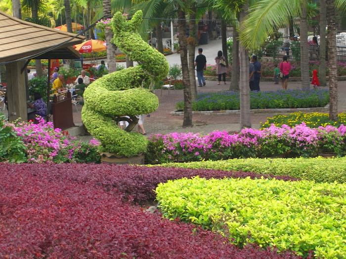 Парк Нонг Нуч (Nong Nooch Tropical Garden) 61133