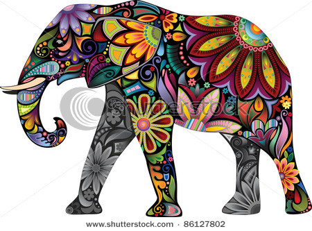 4708174_stockvectorthecheerfulelephantthesilhouetteoftheelephantcollectedfromvariouselementsofaflower86127802 (450x333, 96Kb)