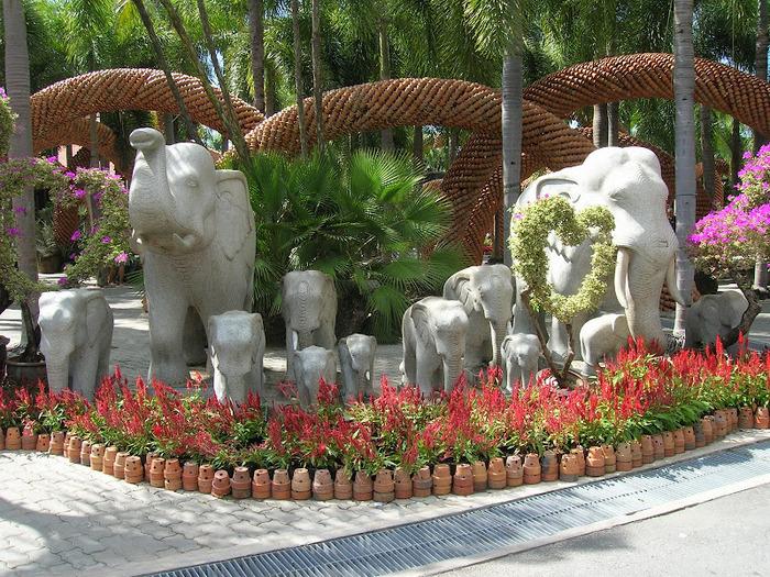 Парк Нонг Нуч (Nong Nooch Tropical Garden) 72019