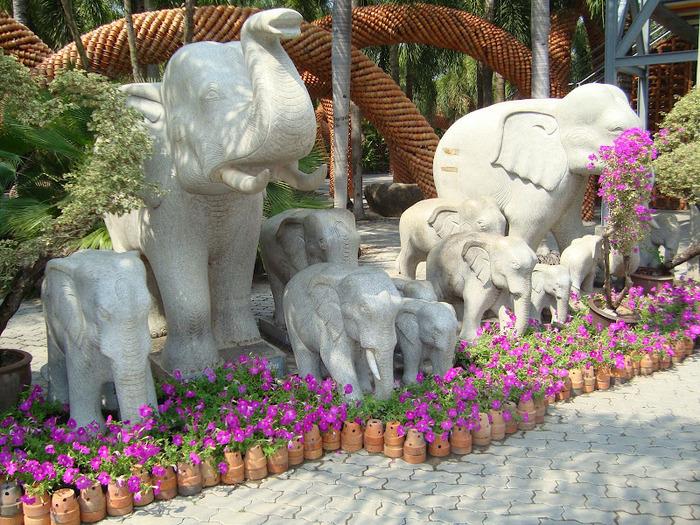 Парк Нонг Нуч (Nong Nooch Tropical Garden) 15075