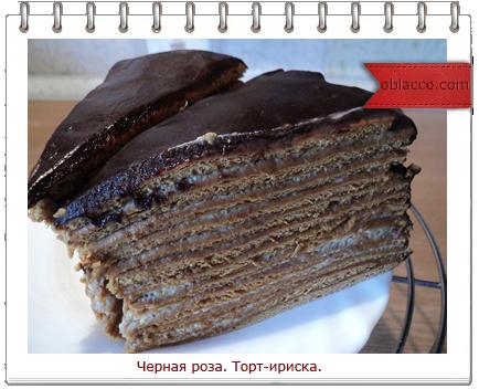 торт черная роза рецепт с фотографиями