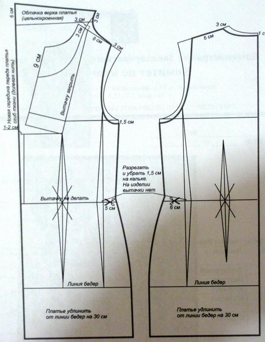 Как сшить платье с хомутом своими руками 82