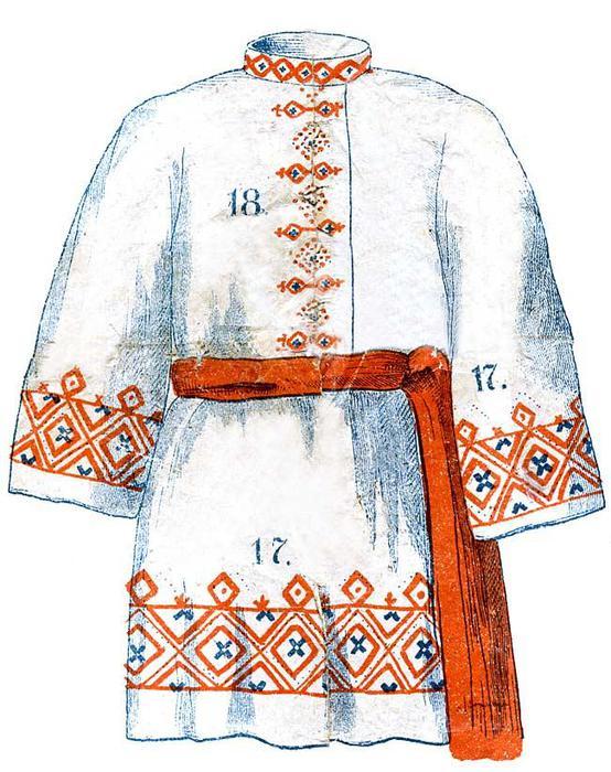 мужской костюм журнал Нива