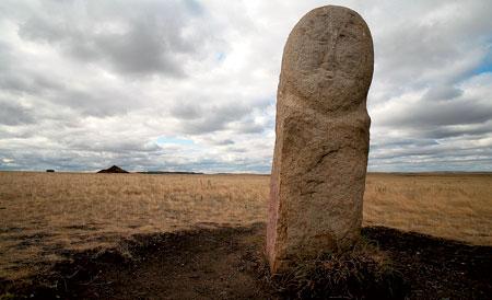 Каменные бабы. Легенда