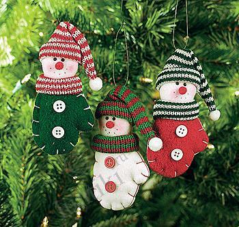 Новогодние украшения для кукол своими руками