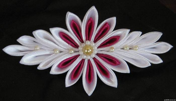 Цветы канзаши картинки 5