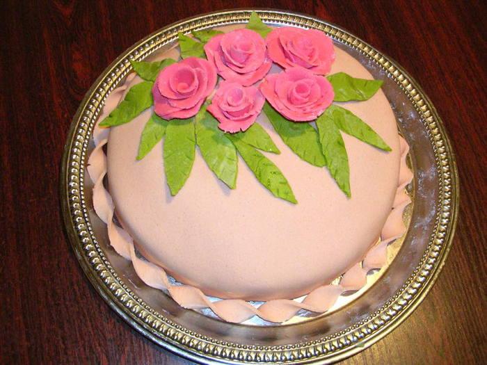 Оформление мастикой для торта с фото
