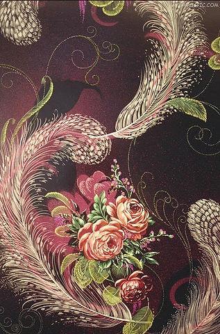 """Предпросмотр схемы вышивки  """"Цветы, узор """"."""