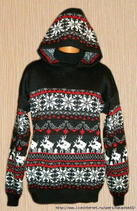 свитер черный (455x700, 329Kb)