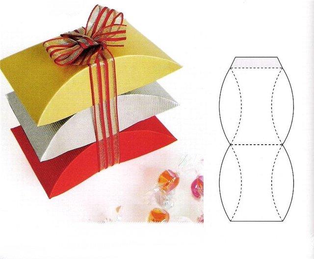 Подарочные упаковки своими руками шаблоны