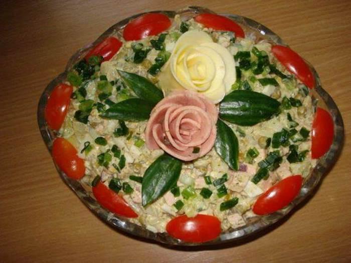 Салаты рецепты простые и красивые