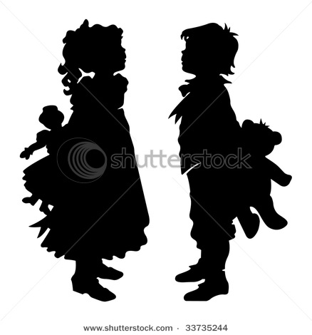 stock-vector-girl-and-boy-silhouette-33735244 (438x470, 29Kb)