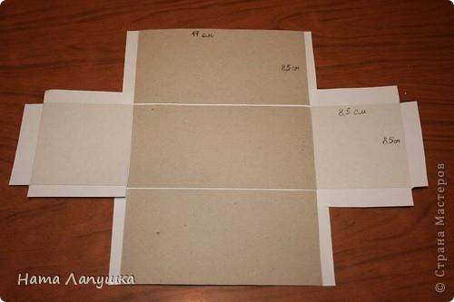 Сундук своими руками из картона фото