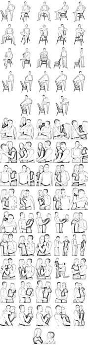 Какие позы нравятся парням картинки 6