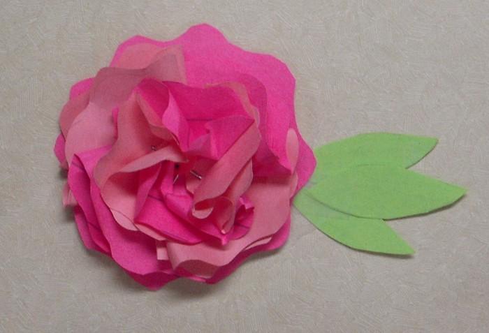 Красивые цветы своими руками мастер класс