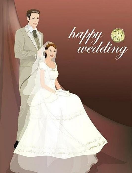 свадебные открытки картинки: