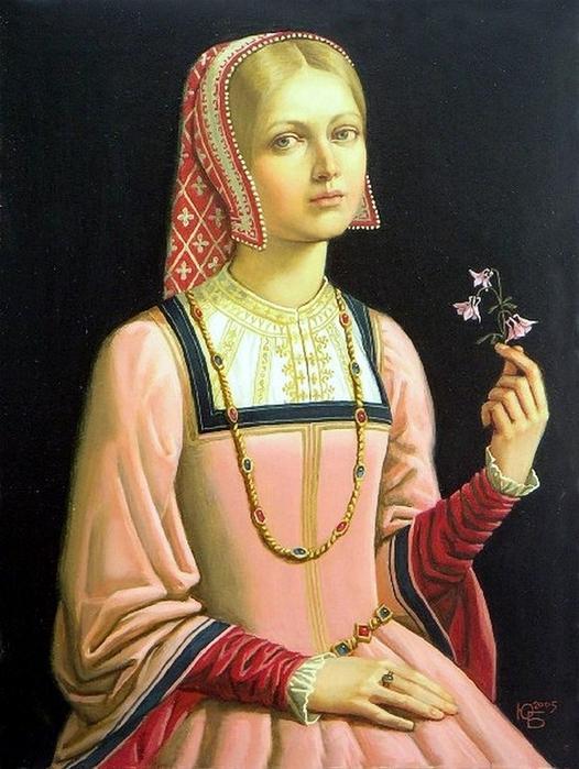Julia_Bekhova Larkspur (526x700, 285Kb)