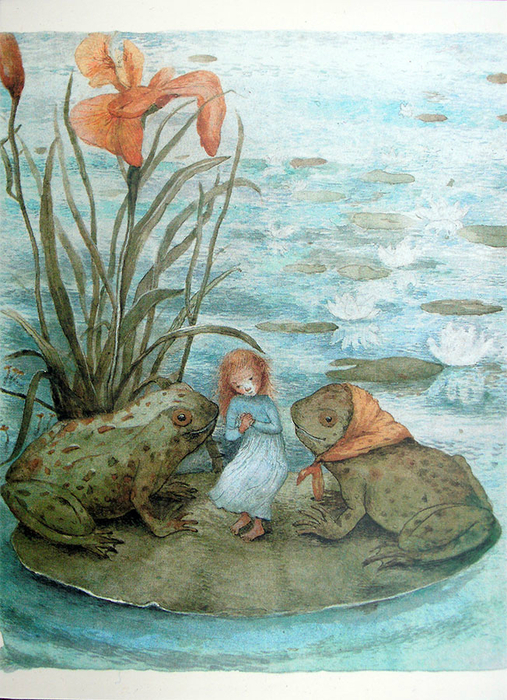 postcard_girlwithfrogs (507x700, 539Kb)