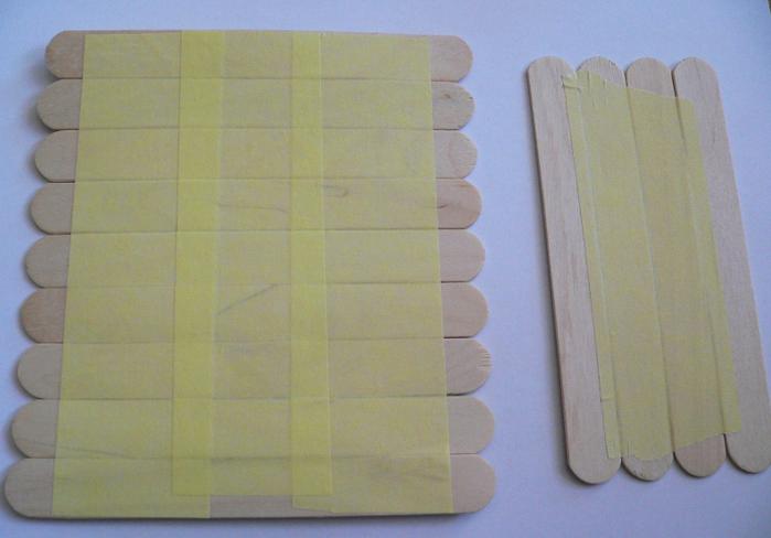 Создание коробочки из медицинских шпателей (1)