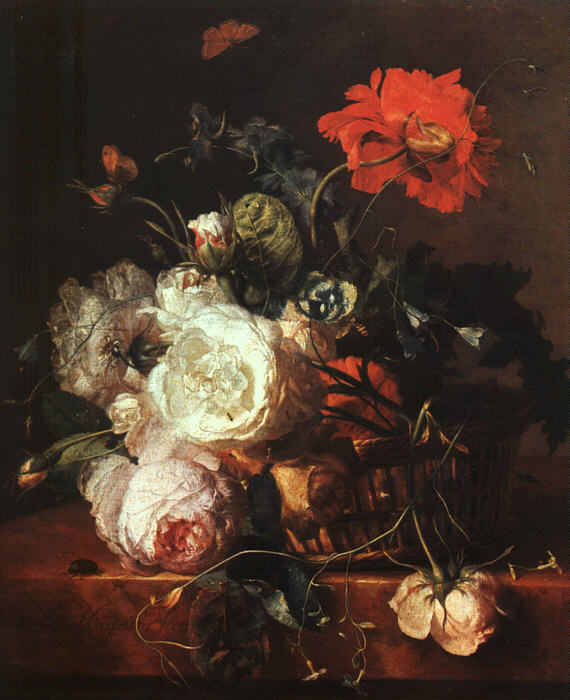 Basket of Flowers (570x700, 78Kb)