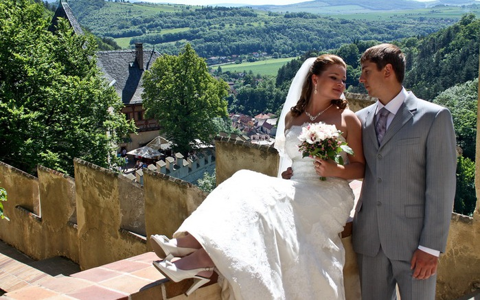 Эксклюзивная и незабываемая свадьба в Чехии.