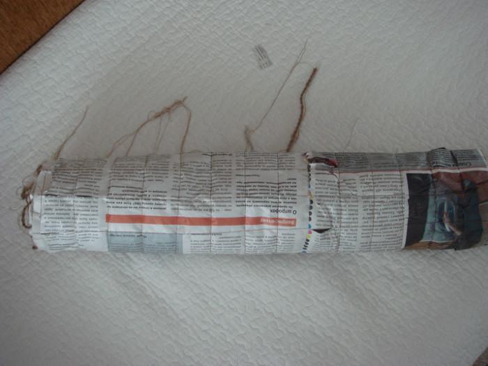 用报纸来做的精致披肩 - maomao - 我随心动