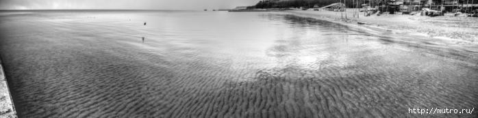 панорамы одессы, море, hdr