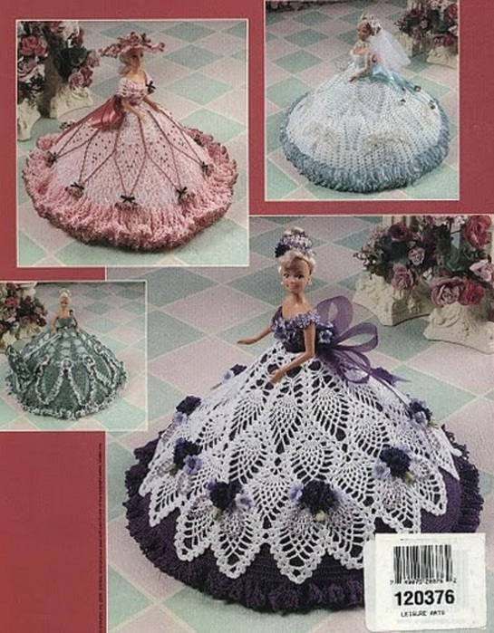 Pineapple Fashion Doll Gowns, BC-а (545x700, 157Kb)