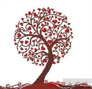 дерево любви (388x378, 28Kb)