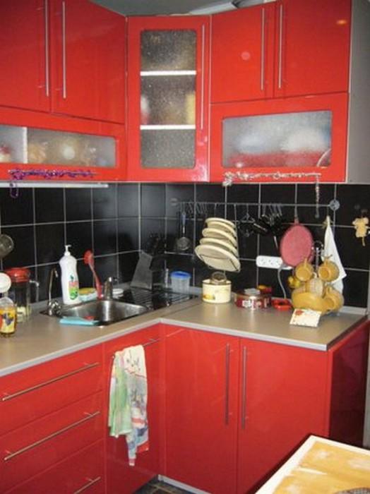 Проект интерьера малогабаритной кухни 4 (524x700, 74Kb)