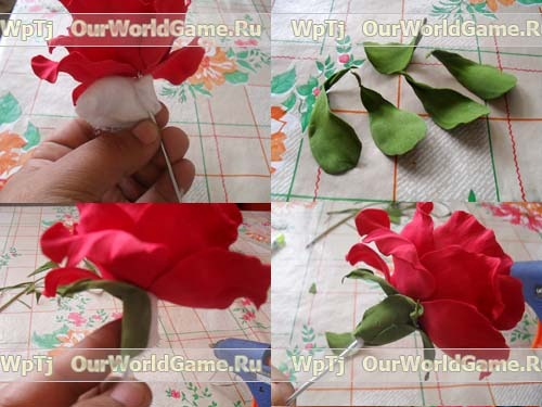 84537421 rozafoam4 Цветы из бумаги