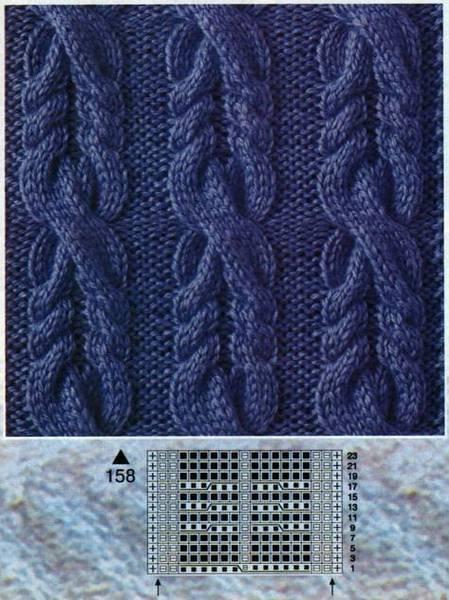 Вязание спицами и крючком вязание для детей и взрослых узоры по вязанию журналы по 187 187 на главную ажурные узоры.